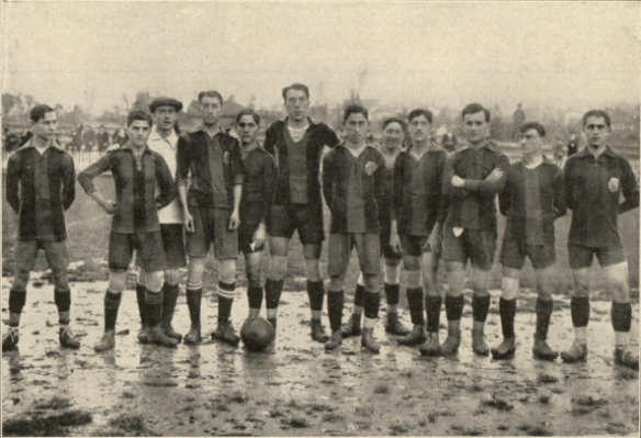 1915 ATHLETIC BARCELONA 4-0